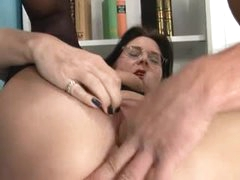 Classy mature gal blowjob and hot fuck video