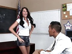 Teacher thinks it is time for his student to try a mature dick